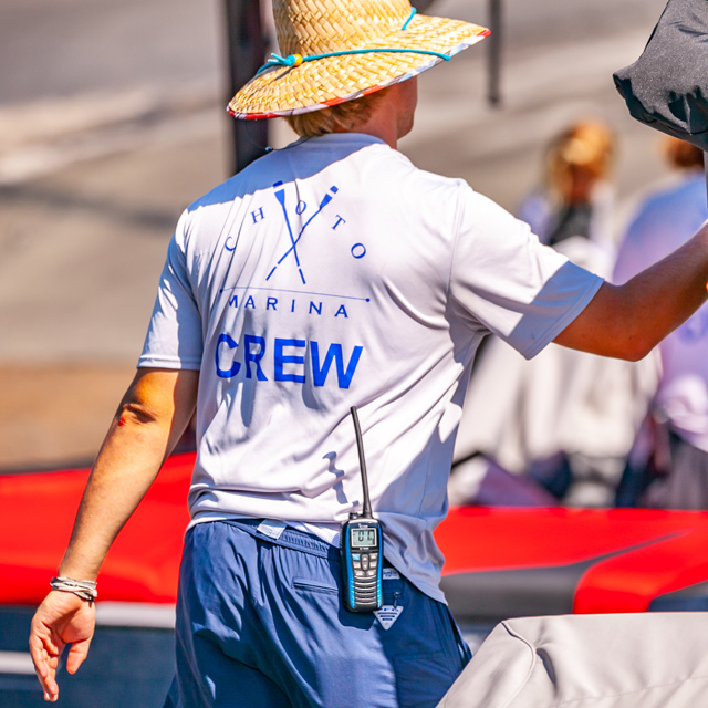 Choto Marina crew member
